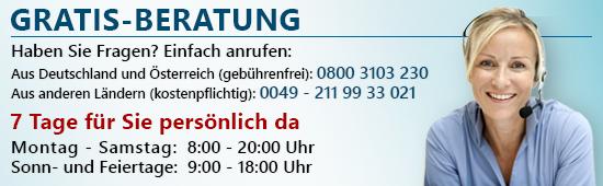 Dr. Hittich Gratis-Beratung: 0800 3103 230