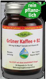 Grüner Kaffee + B2
