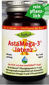 AstaMega-3 ®  Intenz  - Astaxanthin-Kapseln