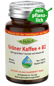 Grüner Kaffee + B2  - Kapseln