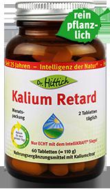 Kalium Retard  - Kalium-Tabletten