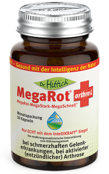Mega-Rot ®   arthro L   - Omega-3 Gelenk-Kapseln