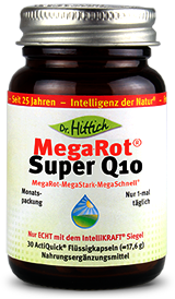 Mega-Rot ®  Super Q10  - Omega-3-Kapseln