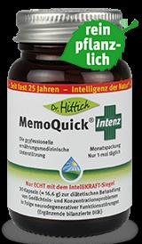 MemoQuick ®   Intenz   - Bacopa Monnieri Gedächtnis-Kapseln