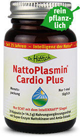 NattoPlasmin ®  Cardio Plus  - Nattokinase-Herz-Kapseln