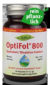 OptiFol ®  800  - Folsäure-Kapseln