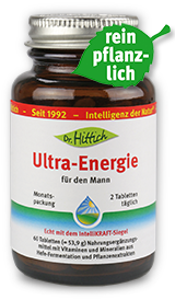 Ultra-Energie für den Mann  - Multivitamin+ Tabletten