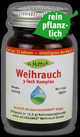 Weihrauch 3-fach Komplex  - Kapseln