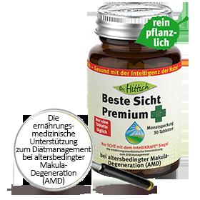 Beste Sicht Premium  - Lutein-Tabletten