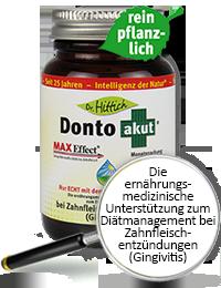 Donto akut ®   - Coenzym Q10 Zahnfleisch-Tabletten