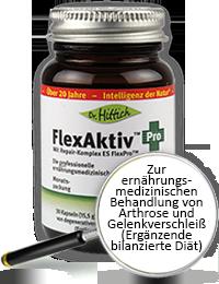 FlexAktiv ®  Pro  - Hyaluron-Gelenk-Kapseln