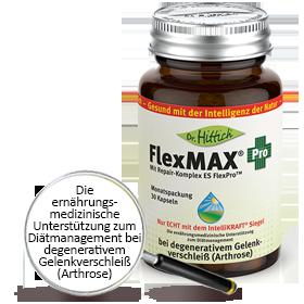 FlexMAX ®  Pro  - Hyaluron-Gelenk-Kapseln