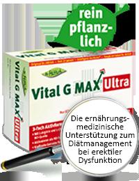 Vital G MAX Ultra  - Arginin-Potenz-Tabletten